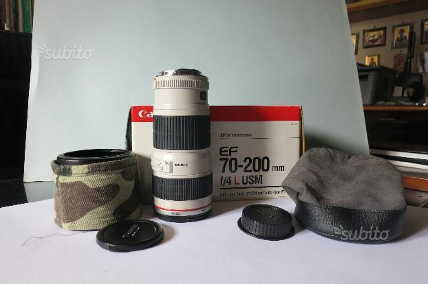 Obiettivo Canon 70-200mm f/4.0 L USM