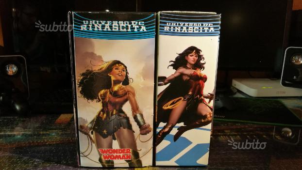 Wonder Woman Rinascita - Anno 1/2- Cofanetti Comp