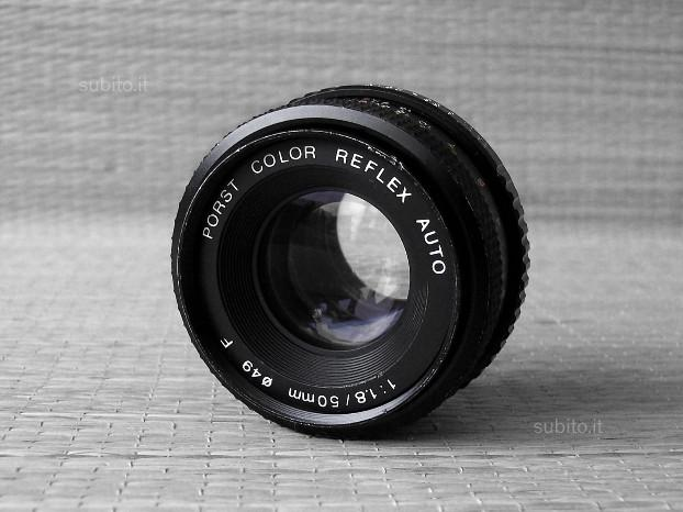 PORST COLOR REFLEX 50mm f/1.8 -Adattabile Digitale