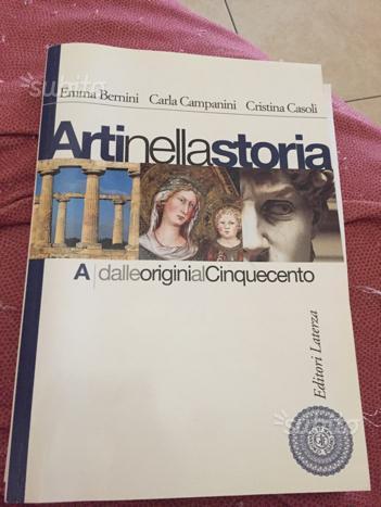 Libro Arti nella storia A