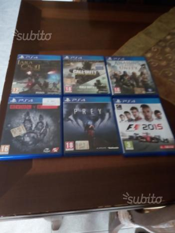 Videogiochi per PS4 originali