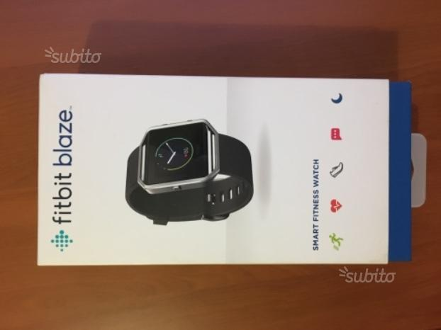 Fit bit blaze - Smart fitness watch + 4 cinturini