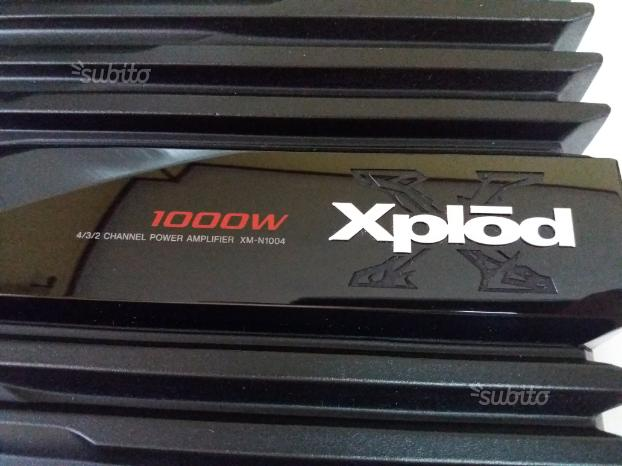 Amplificatore SONY XPLOD 1000WATT NUOVISSIMO 2018