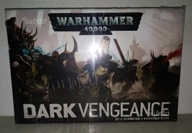 Warhammer dark vengeance *nuovissimo