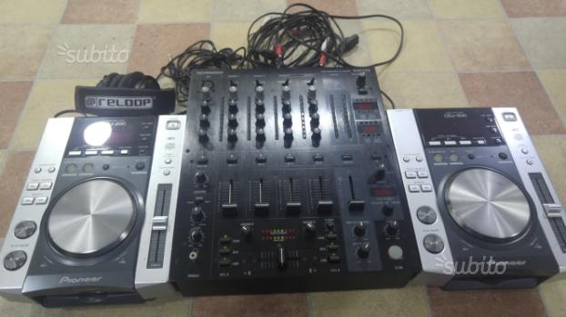 Consolle Dj Professional