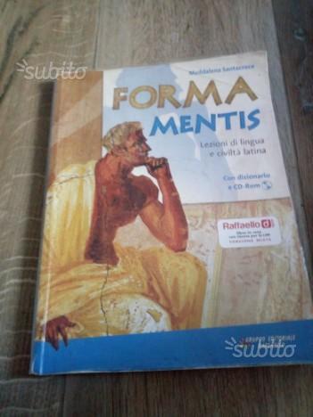 Libro di latino per le medie :forma mentis