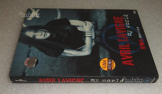 Japan Edition Avril Lavigne My World CD DVD Poster