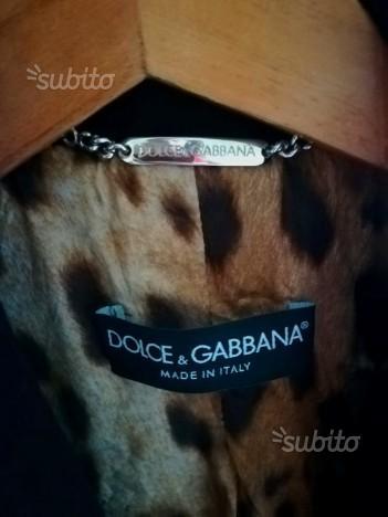 Cappotto Dolce&Gabbana Originale