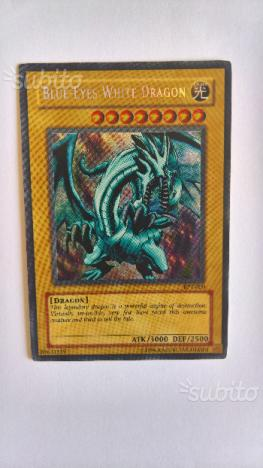 Carta YugiOh Drago Bianco Occhi Blu BPT-009