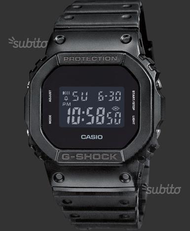 Orologio Casio G shock DW 5600 BB 1ER