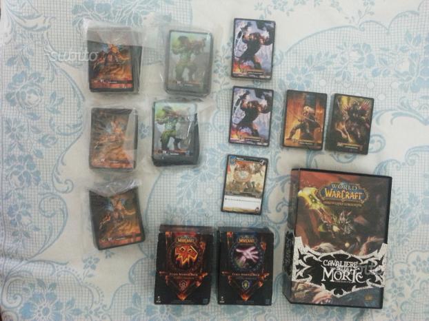 World of Warcraft - Raid Deck e Class Deck