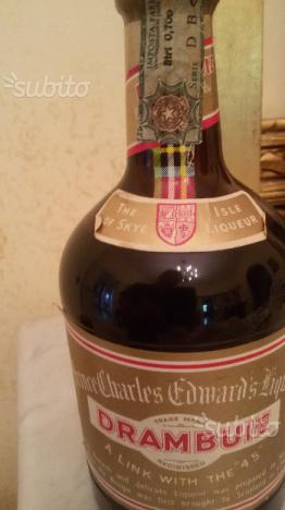 Vintage whisky scozzese drambuie