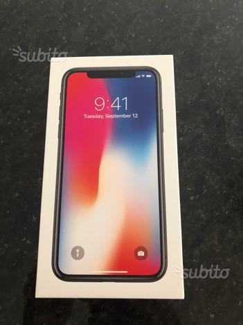 IPhone X 64gb nero