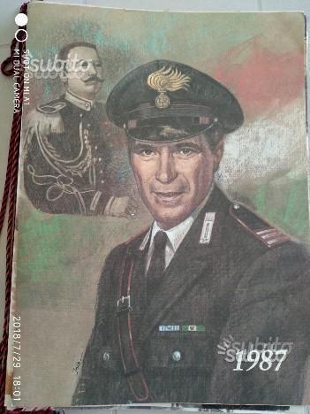 Calendari Arma dei Carabinieri 1987