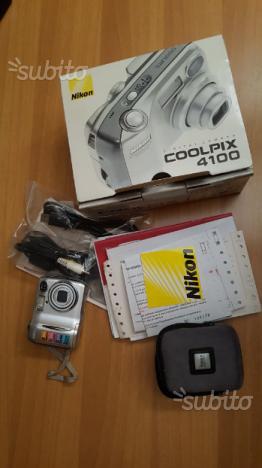 Fotocamera nikon coolpix 4100
