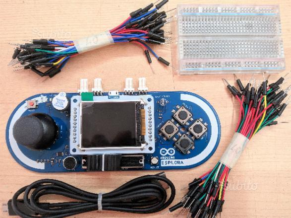 Kit Arduino Esplora con display