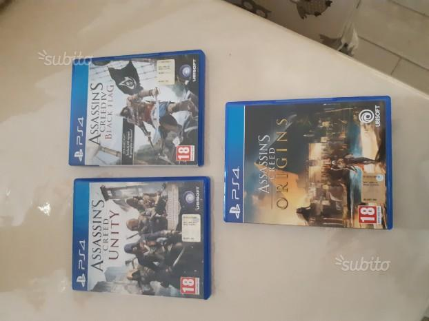 Assassin's Creed Black Flag+Unity+Origins