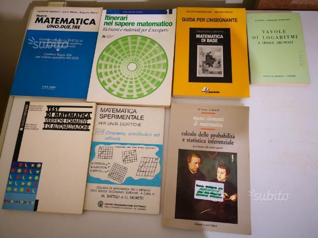49 libri di matematica e geometria + zwiner autogr
