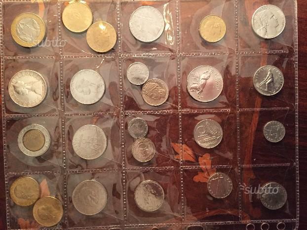Collezione completa monete prima repubblica fior c