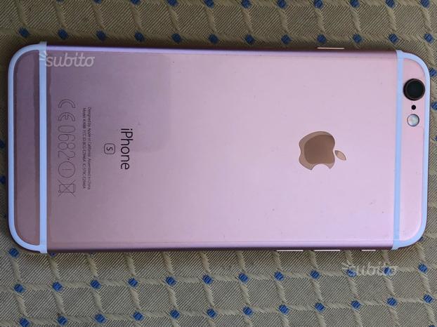 Iphone 6s gold rosa 16 gb