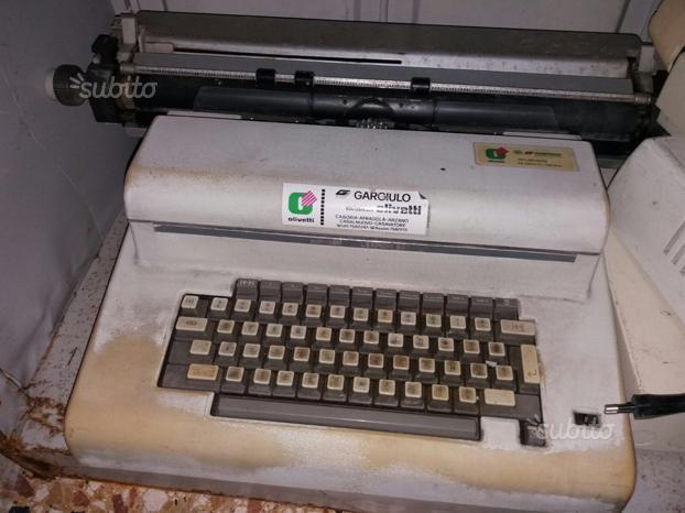 Macchine per scrivere