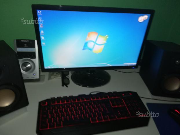 PC fisso più monitor da casa e ufficio