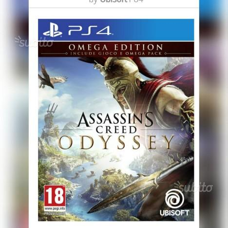 Assassin's Creed Odyssey Omega Edition PS4 (ita)