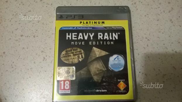 Heavy Rain Move Edition per PS3