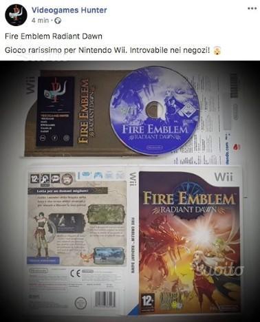 Fire Emblem Radiant Dawn Nintendo Wii