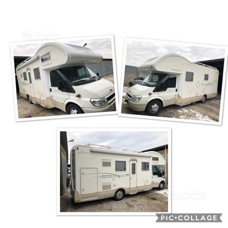 Camper Kentucky estro 6s 31000km gemellato Ford