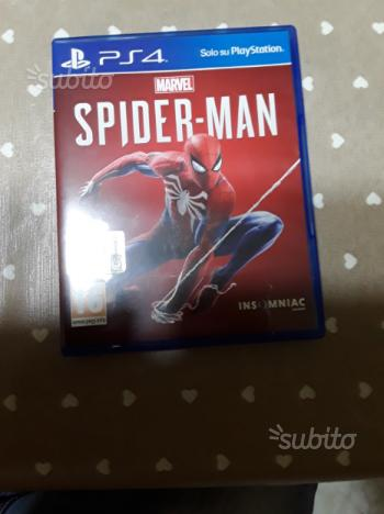 Gioco ps4 Marvel spider man