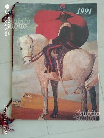 Calendario Arma dei Carabinieri 1991