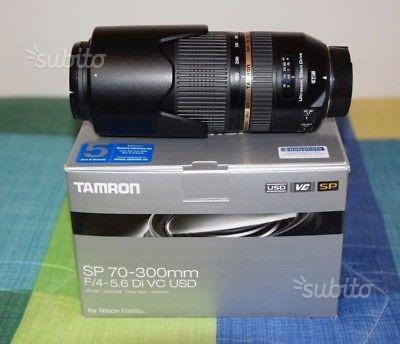 TAMRON 70-300 USD stabilizzato X NIKON