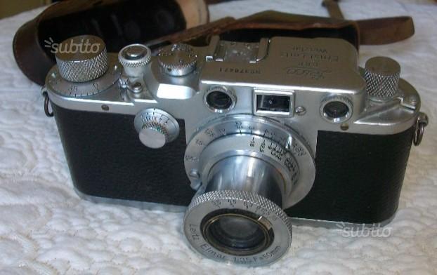 Macchina fotografica vintage leica