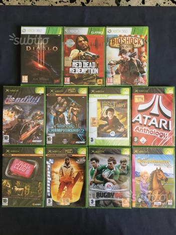 Giochi Originali per XBOX 360, XBOX primo modello
