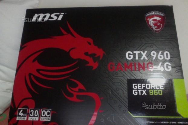 Msi gtx 960 gaming 4g