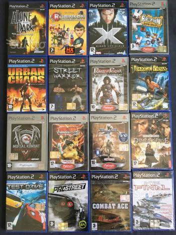 Vari Titoli fondo di magazzino per PS2, PS2 slim