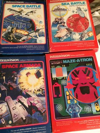 Consolle Intellivision e giochi