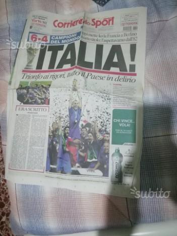Corriere dello sport italia campione del mondo2006
