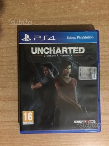 Uncharted - l'eredità perduta - ps4