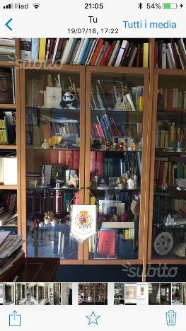 Libreria ciliegio H.230 L.315 P.45