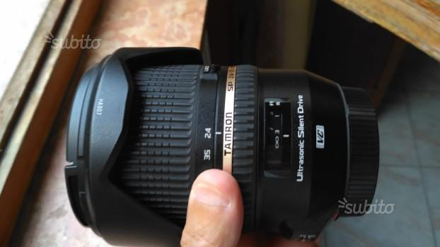 Tamron SP 24-70 mm f. 2,8 DI VC USD per Canon