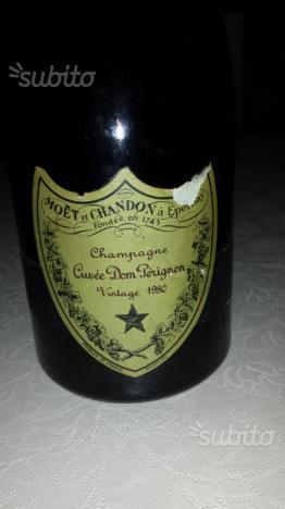 Champagne cuvee Dom Perignon 1980
