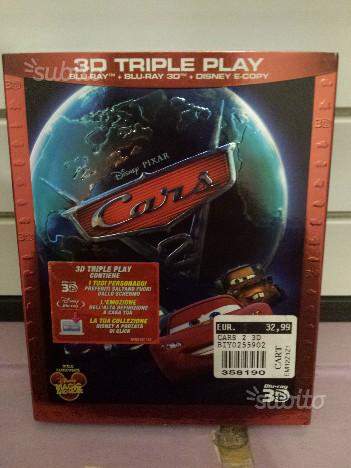 Disney Pixar Cars 2 Blu Ray 3D