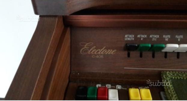 Organo Yamaha electone c405