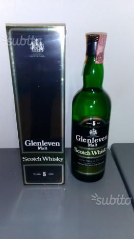 Bottiglia Whisky GLEN LEVEN
