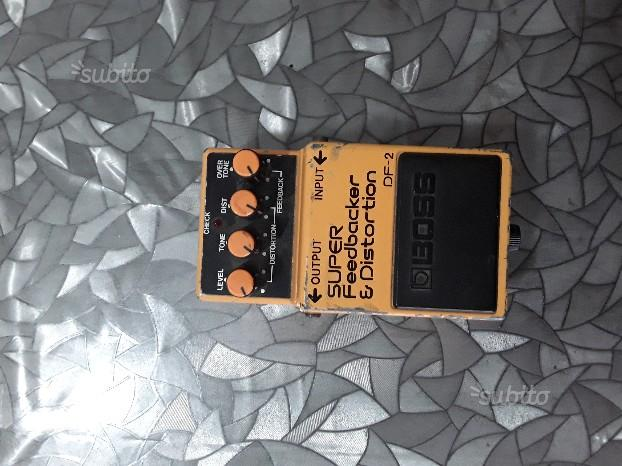 Boss Super Feedbacker and Distortion Pedal