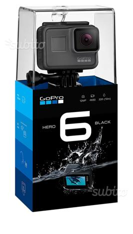 Gopro Hero 6 Black Nero