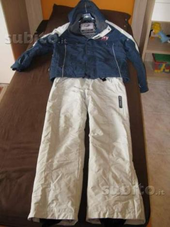 Giacca e pantaloni neve west-scout- anche separati