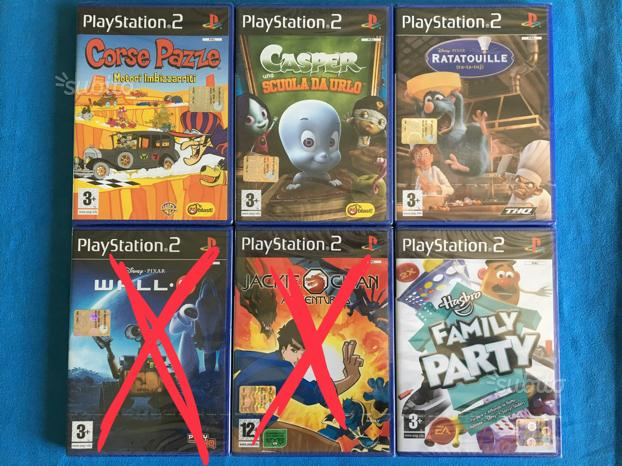 Giochi Originali, Sigillati per Playstation2, PS2
